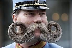 Funny Crazy Mustache