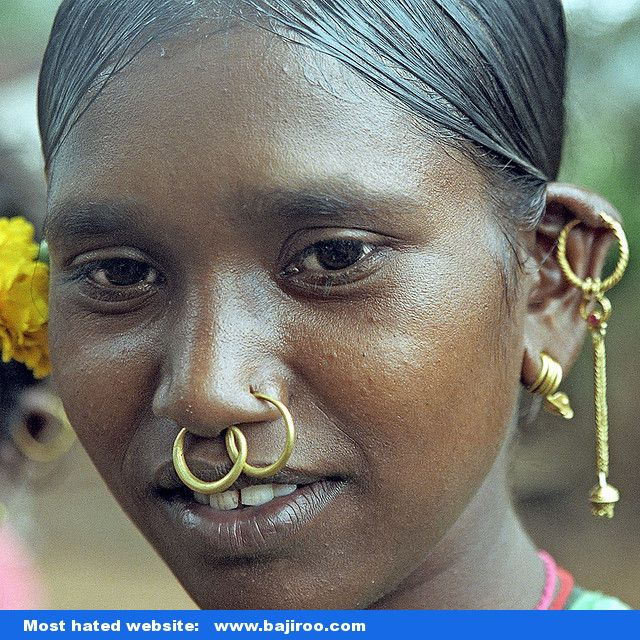 Funny Crazy Piercing Indian Girl