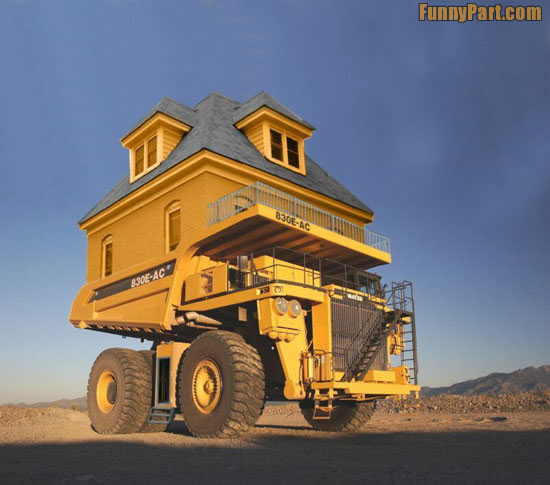 Funny Moving Home Image