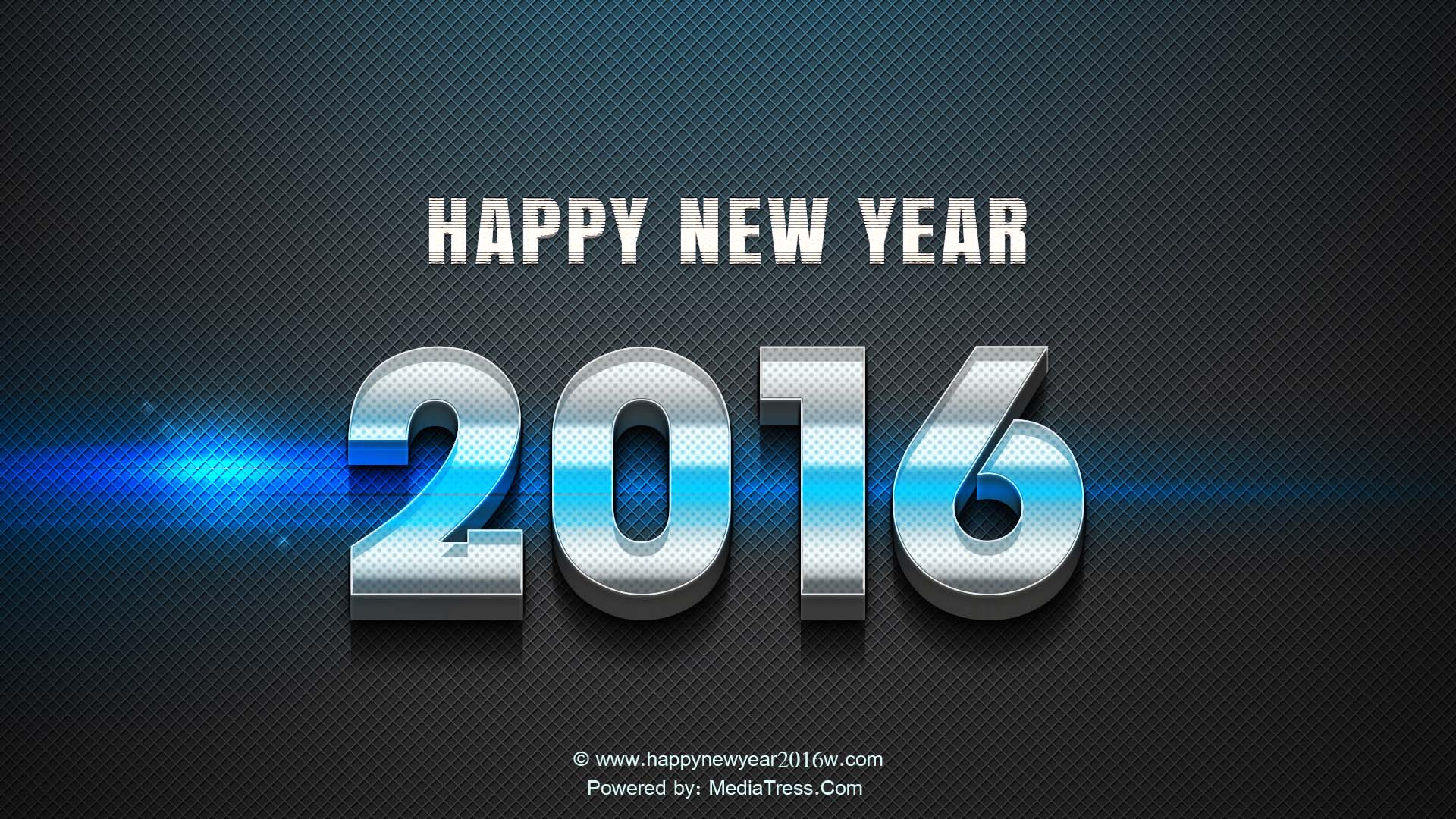 Happy New Year 2016 3d Wallpaper