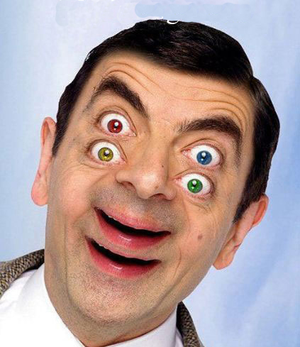 15 most funny eyes pictures and images mr bean double eyes funny picture publicscrutiny Gallery