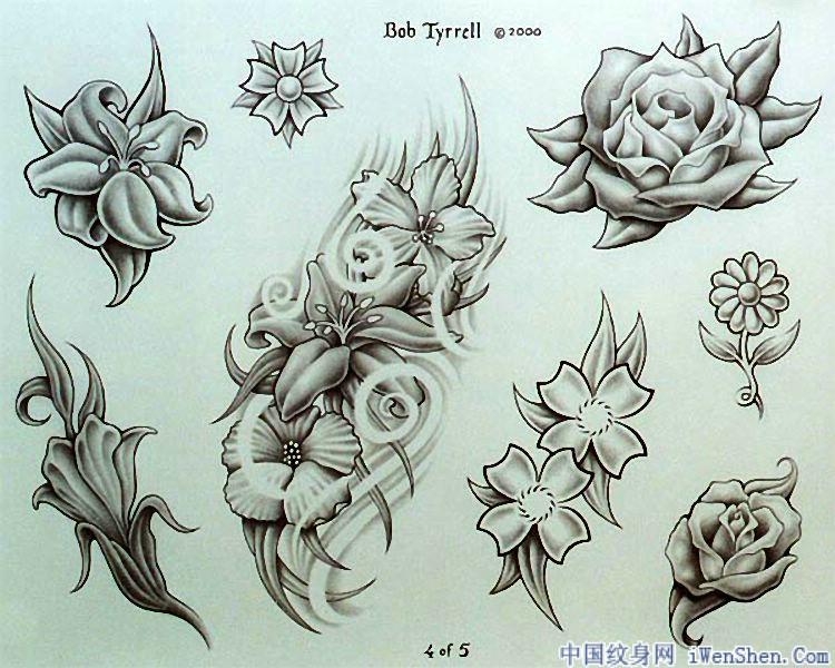 Tribal Flash Tattoo Designs