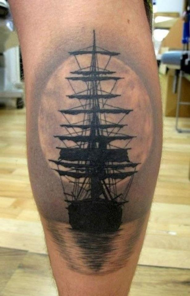 ff5898c92 21 Beautiful Boat Tattoo Images, Designs And Pictures