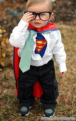 sc 1 st  Askideas.com & Baby Superman Funny Costume Picture