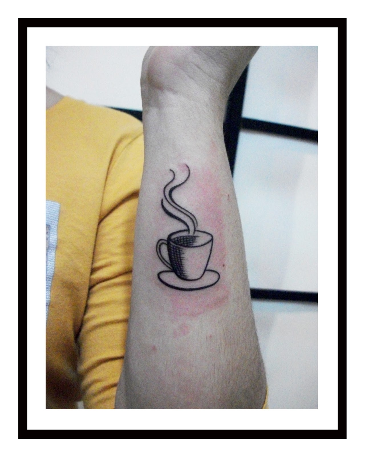 24 Awesome Coffee Tattoo Images, Pictures And Design Ideas
