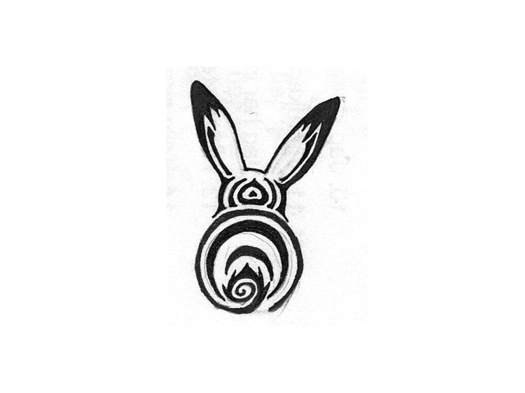 10 rabbit tattoo designs samples and ideas