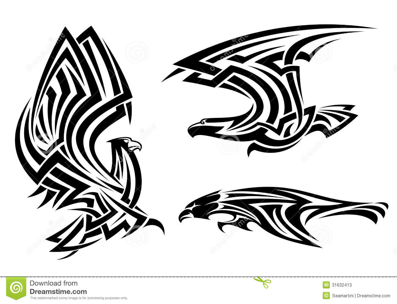 Falcon tattoo design - photo#24