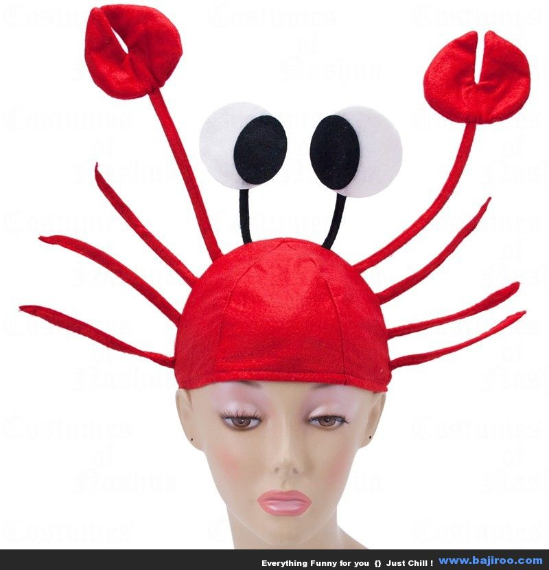 Crab Hat Funny Picture