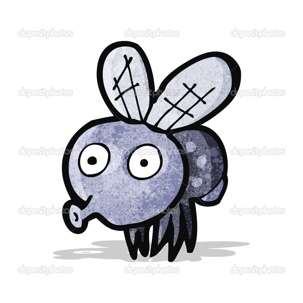 elephant face funny fly cartoon picture