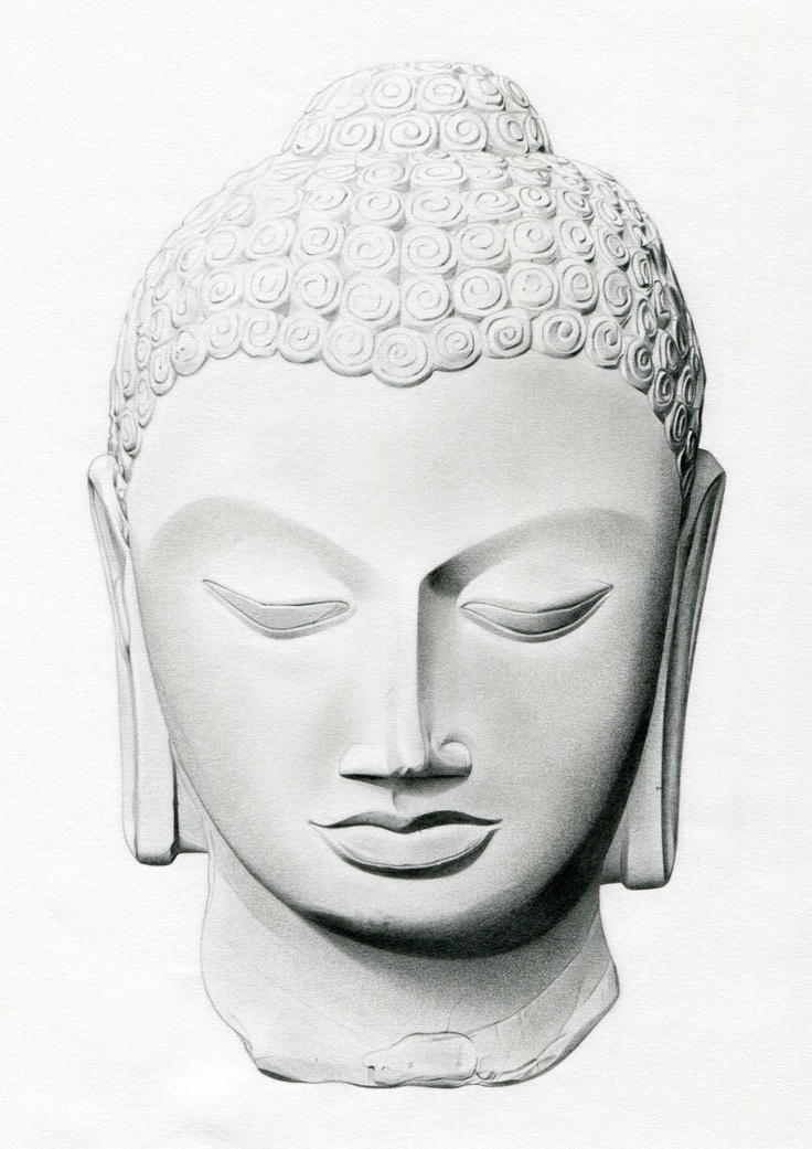 Buddha Face Line Drawing : Most incredible buddha head tattoos and designs