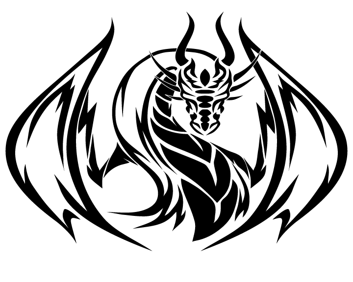 22 Tribal Dragon Tattoo Designs Images And Pictures