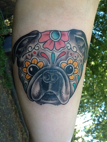 25+ Pug Tattoo Images, Pictures And Design Ideas