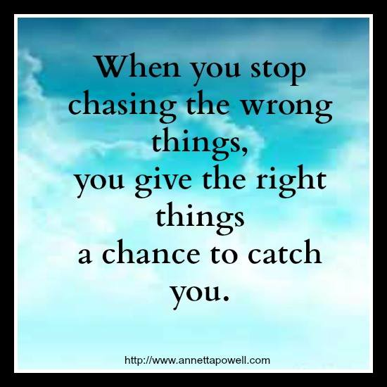 You stop man chasing when happens what a How To