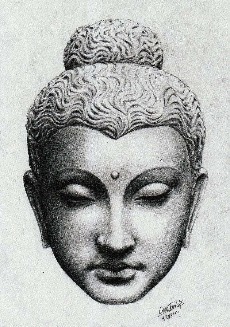 30 Most Incredible Buddha Head Tattoos and Designs for Gautam Buddha Face Tattoo  177nar