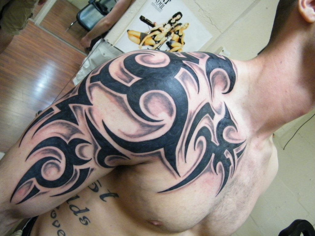 Awesome Tribal Tattoo: 21 Awesome Tribal Sleeve Tattoos Designs, Images And Pictures