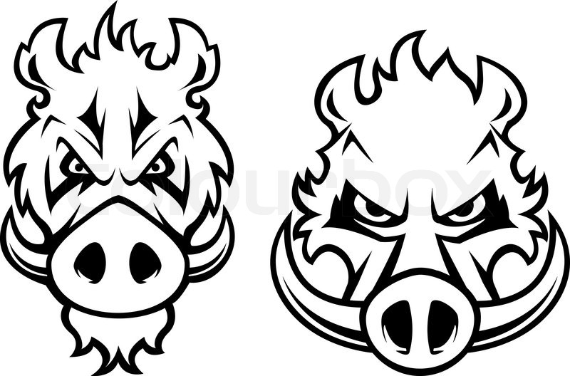 19 boar tattoo designs samples and ideas
