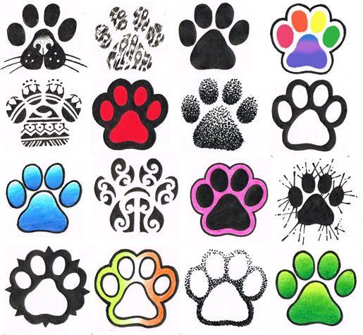 Colorful Animal Print Tattoo