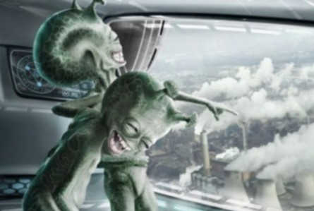 25 funny alien photos and images