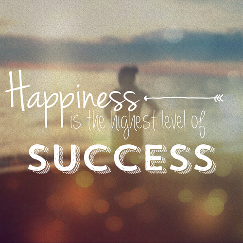happinesss is success The economics of happiness or happiness economics is the quantitative and theoretical  as an alternative to traditional measures of policy success such as gdp or.