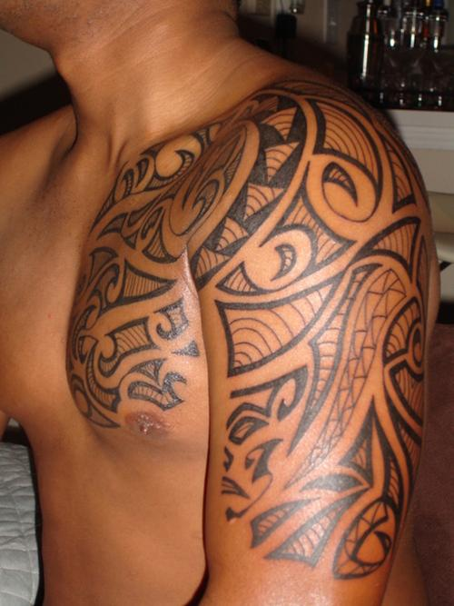 25 incredible hawaiian tattoos. Black Bedroom Furniture Sets. Home Design Ideas