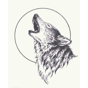 18 Howling Wolf Tattoo Designs Images And Photos