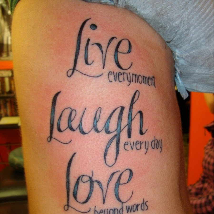 Tattoo Quotes About Love: 10 Love Quote Tattoos For Men Images And Pictures