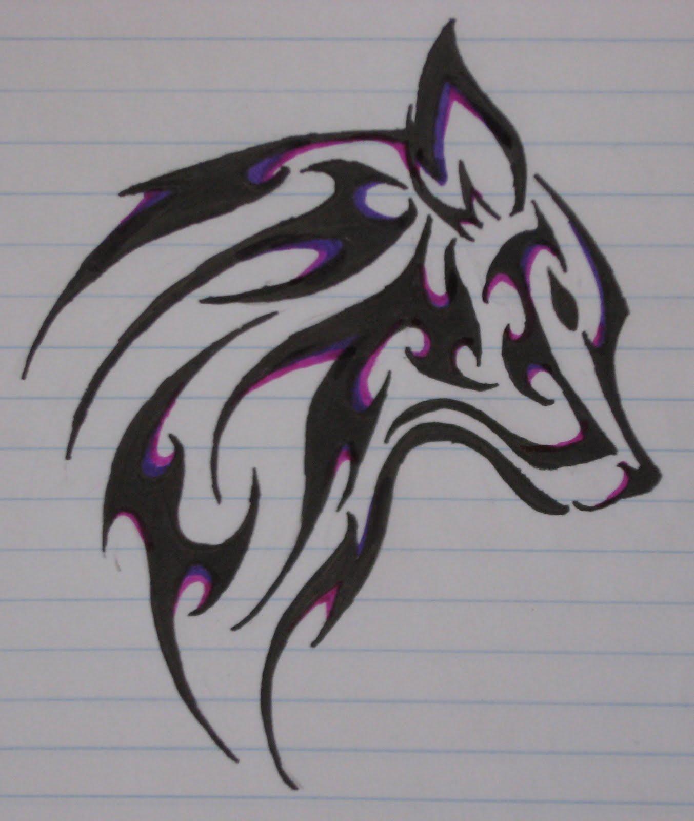 Art Ideas Wolves