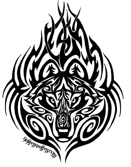 49 latest wolf tattoo designs and ideas. Black Bedroom Furniture Sets. Home Design Ideas