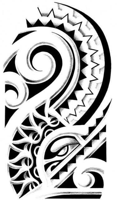 19 hawaiian tribal tattoo designs  photos and ideas