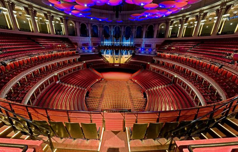 Royal Albert Hall London Interior