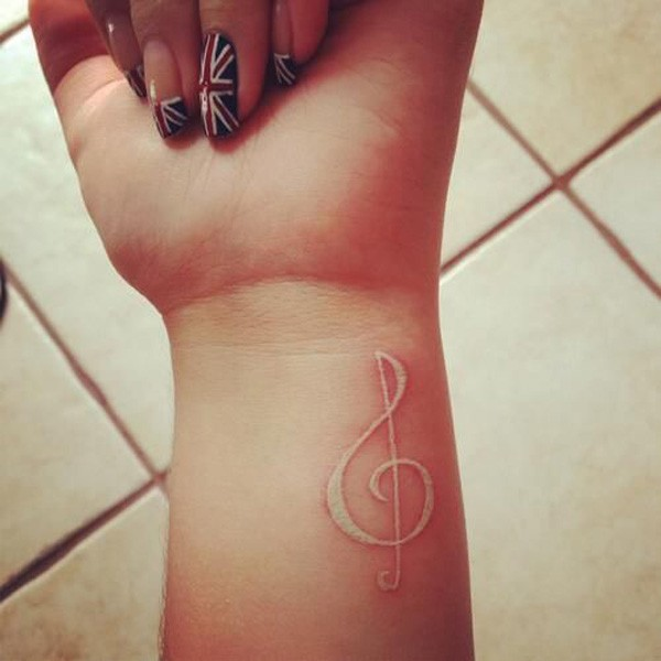 25 Treble Clef Tattoo Images Pictures And Photos Ideas