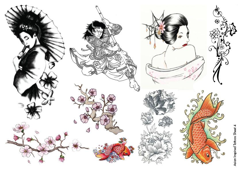 7 Meaningful Asian Tattoo Designs And Ideas