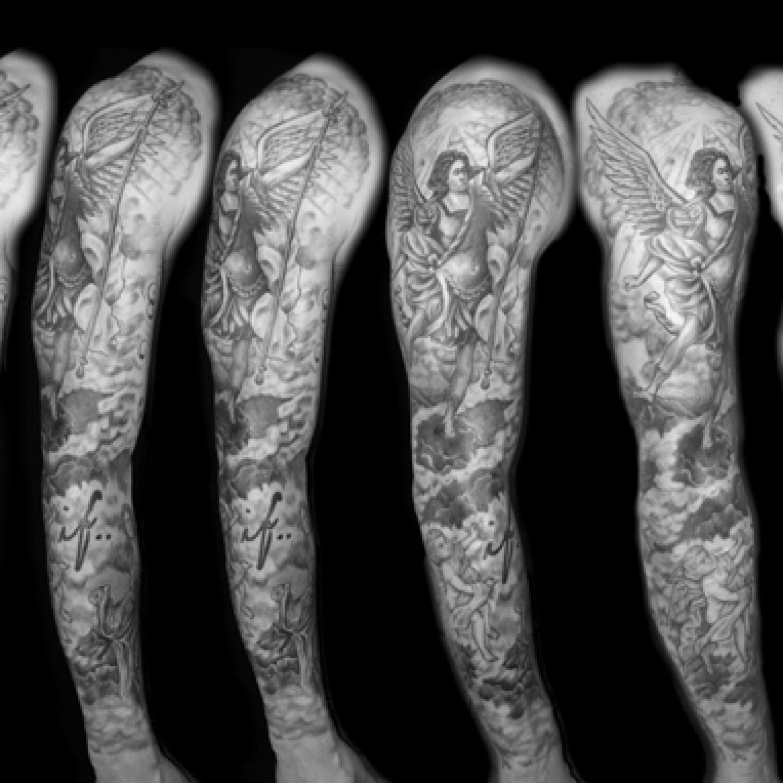 Archangel Arm Tattoo 26+ Angel Sleeve Tatto...
