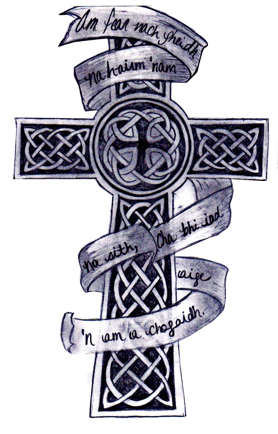 Back gt Gallery For Cool Celtic Cross Tattoo Designs