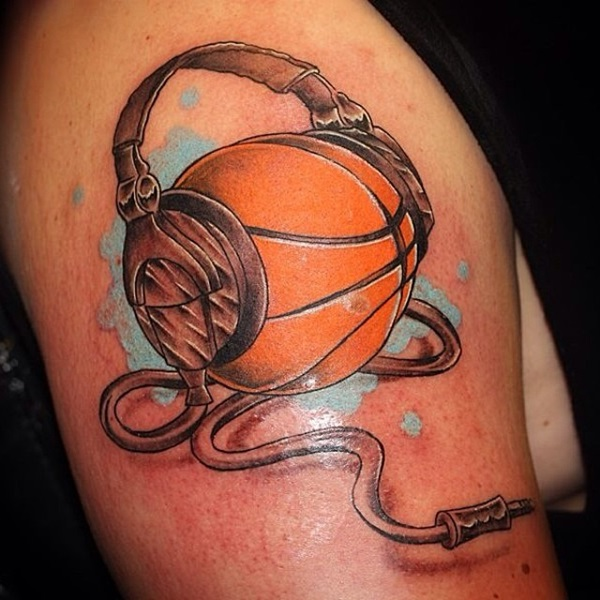 23 Inspiring Basketball Tattoo Images, Pictures And Photos