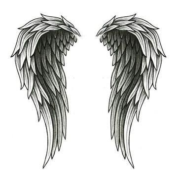 Beautiful Angel Wings Tattoos Ideas