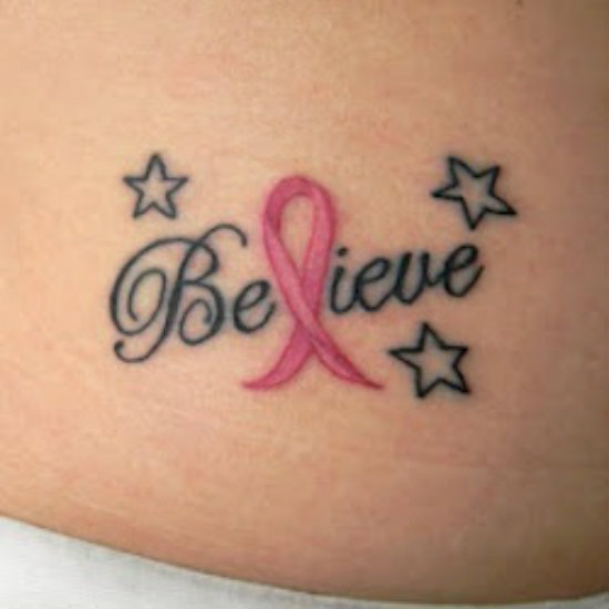 33 Cute Breast Cancer Tattoo Designs, Images And Pictures -3909