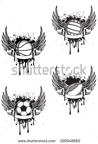 6 cool basketball tattoo designs samples and ideas. Black Bedroom Furniture Sets. Home Design Ideas
