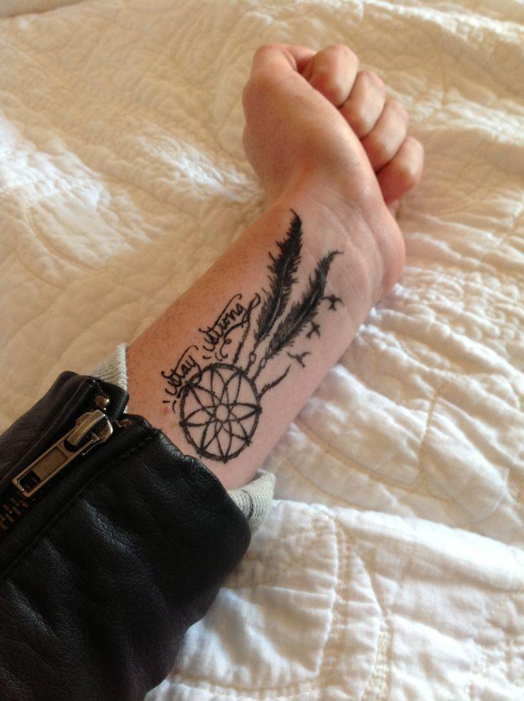 24+ Dreamcatcher Tattoos On Wrist For Girls