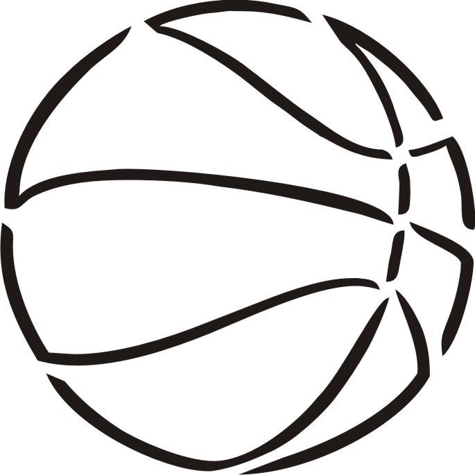 Basketball stencil related keywords