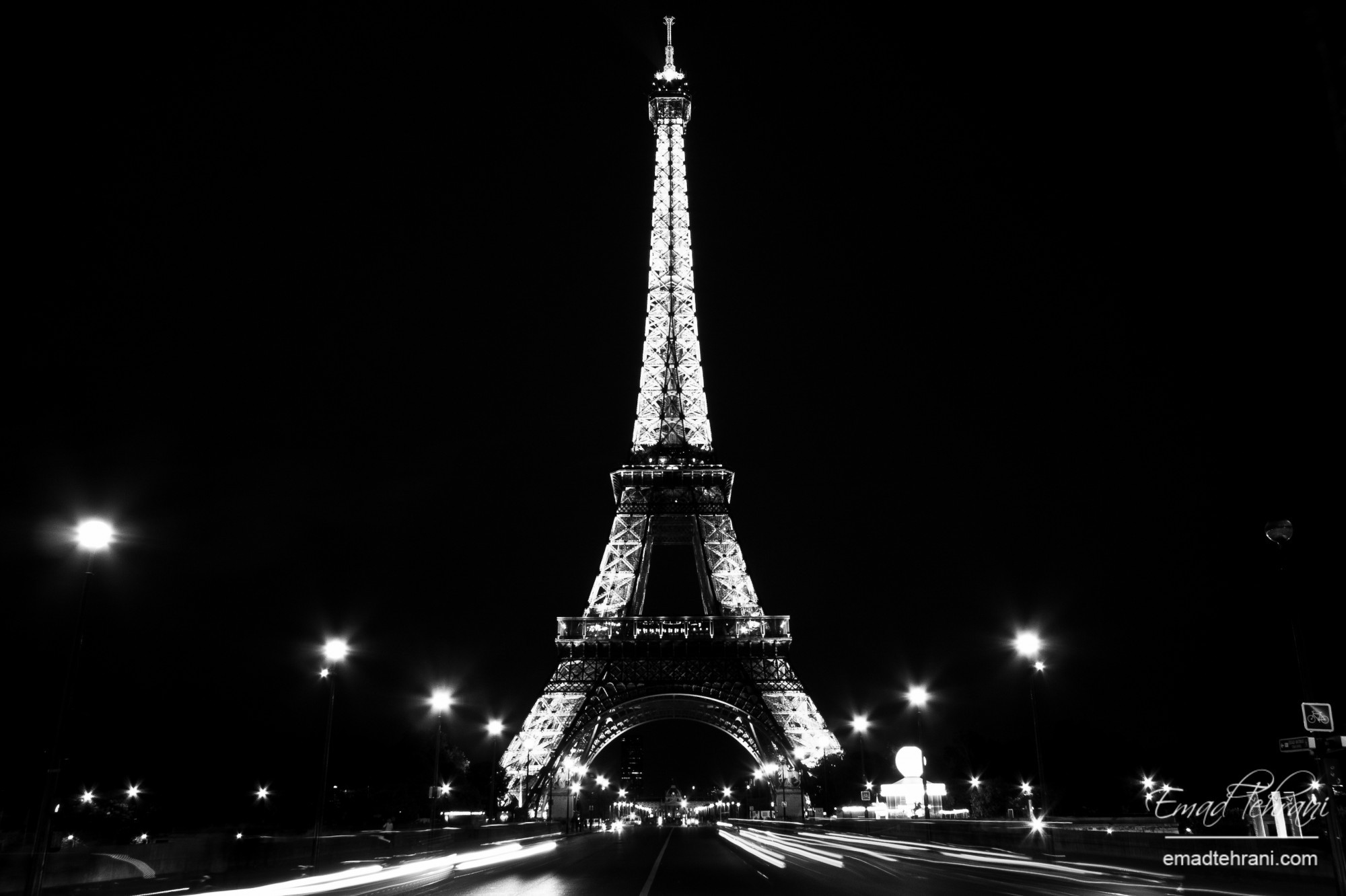 Eiffel Tower Images Black And White: 30 Eiffel Tower At Night Images