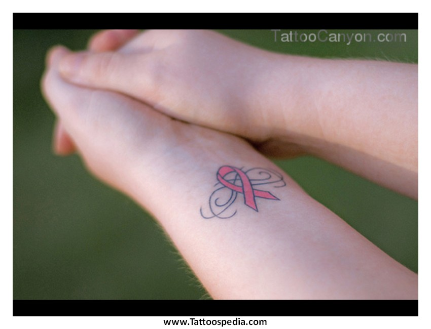 33 Cute Breast Cancer Tattoo Designs Images And Pictures Ideas For