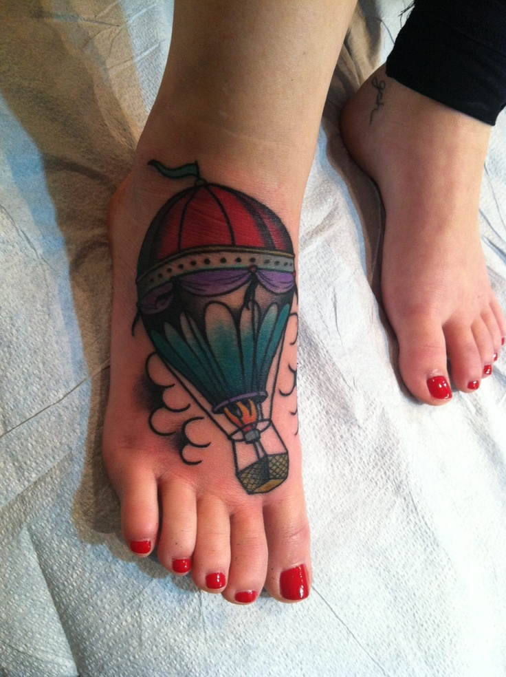29 Beautiful Balloon Tattoo Images, Pictures And Photos ...