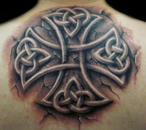 46 celtic cross tattoos designs. Black Bedroom Furniture Sets. Home Design Ideas