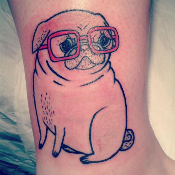 29 Cute Puppy Tattoos