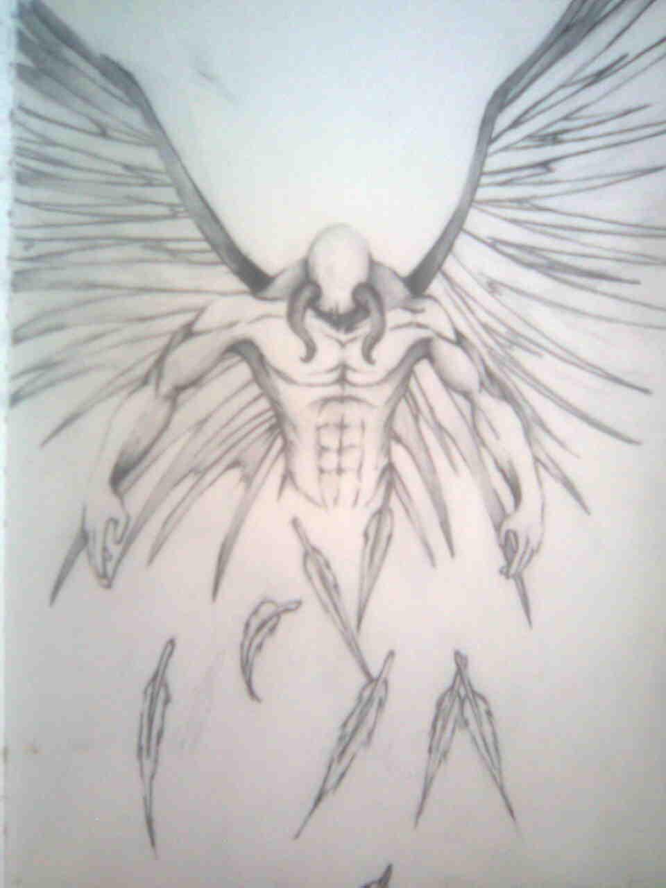 30 fallen angel tattoo ideas fallen angel tattoo design sample altavistaventures Choice Image