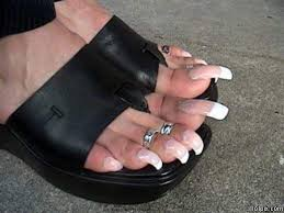 Funny Nasty Toe Nails Picture