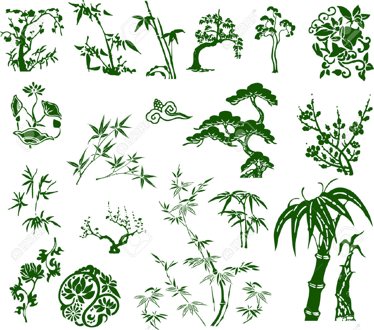5 Latest Bamboo Tree Tattoo Designs Samples And Ideas