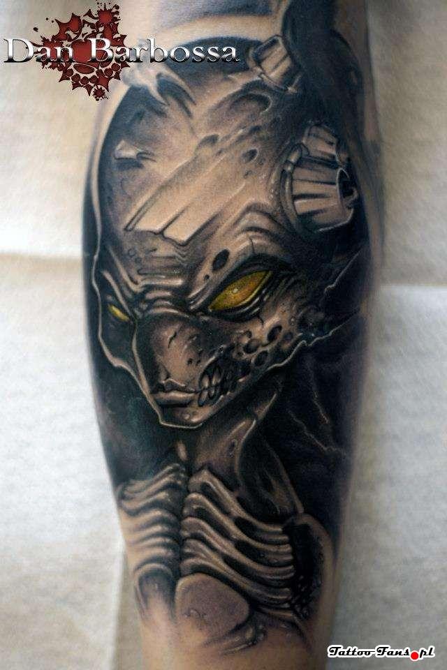 22 ancient alien tattoos