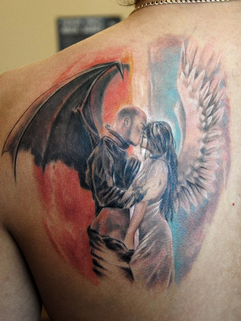Demons And Angels Tattoos